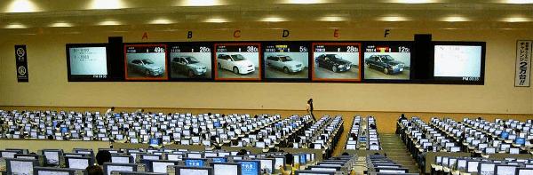 Автомобильный аукцион в Японии