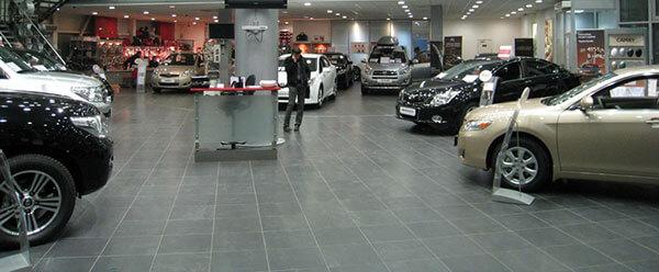 Новые автомобили из Москвы