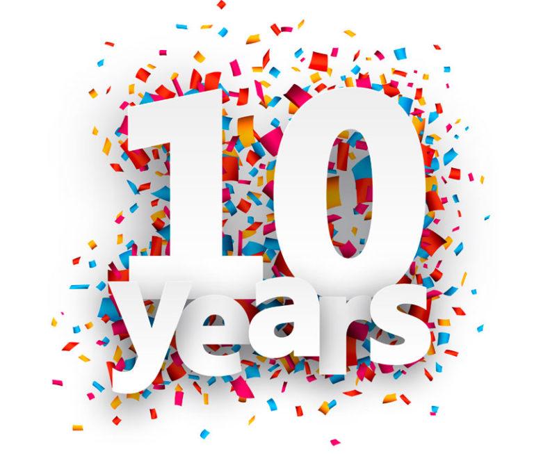 Поздравления 10 лет работы в компании поздравления